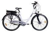 28inch Lithium Battery Alloy Woman Electric Vehicles E-Bikes (JB-TDB01Z)