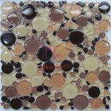 Round and Irregular Shape Glass Mosaic Tile (CFC316)