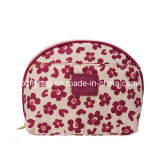 Trolley Makeup Case with Hot Flower Design Fly-CS-023
