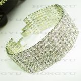 Transparent Crystal Fashion Bracelet