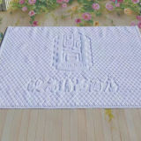 Customized Logo Hotel Bath Mat