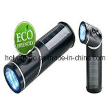 3 LED Rotatable Solar Flashlight