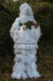 Wholesale Snow White Costume, Cmouflage Clothing Ghillie Suit, Hunting Suit