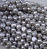Button Pearl, Round Flat Pearl, Freshwater Pearl (BU10)