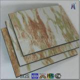 Marble Design Aluminum Composite Sheet for Hotel Decoration
