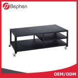 Furniture modern Design Black Metal Frame TV Stand
