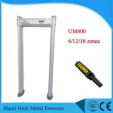 Waterproof 7 Inch Screen Walk Through Metal Detector Um600