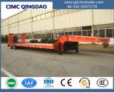 Cimc 50t-80t 3 Axle Low Bed Semi Trailer for Sale
