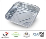 Sq9 Aluminium Foil Tray 250X250X40 (50) mm 2000ml