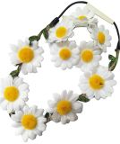 Beautiful Sunflower Headband and Bracelet Sets