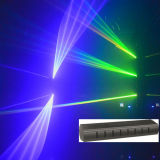 Coolest Blue 8 Heads Scanning Laser Stage Light (YS-913)