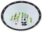 Round Melamine Kids Bowl with Logo (BW265)