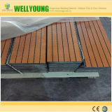 Noise Reduction Wooden Decorative Perforated Acoustic Panel