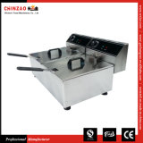 Commercial Dual Deep Fryer (DZL-20C)