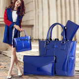 Bw1-089 Lady Handbags Simple Style Leather Bags Handbags Set Wholesale