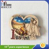3D Tourist Europe Countries Wood Fridge Magnet Souvenir