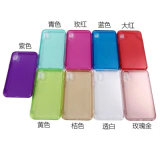 Colorful Clear TPU Case for iPhone X