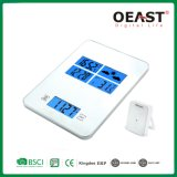 3kg Digital Kitchen Scale with Weather Station Ot6656FC