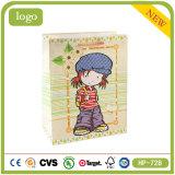 Coated Paper Lovely Girl Handbag Sweet Candy Shopping Gift Paper Bag