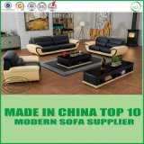 Leisure Sectional Leather Wooden Sofa Set for Home