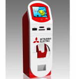 Free Stand Photo Booth Signage Digital Payment Touch Screen Kiosk