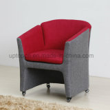 European Style Office Reception Colorful Swivel Fabric Leisure Chair (SP-HC600)