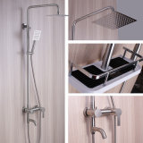 304 Stainless Steel Shower Faucet with Spray Gun