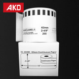 China Supplier OEM Accept Compatible Dk-1209 White Labels Self-Adhesive Labels