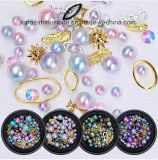 Mermaid Gradient Pearl Colorful Rhinestone Crystal Beads 3D Nail Sequins Paillette Manicure DIY Nail Art Decoration (ND-16)