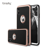 Flexible TPU Lightweight Dual Layer Shock Absorbing Anti Scratch Soft Protective Shell Cover Case for Apple iPhone X