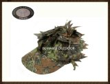 3D Leaf Camouflage Frontier Hat for Outdoor Sports