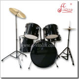 Wholesale 5PCS Black Paint Adult PVC Jazz Drum Set