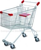 Hot Sell Good Cheap 150 Liter Russia Style Chrome Supermarket Trolley Dimensions (YB-M-03)