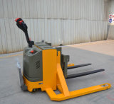 Electric Pallet Stacker with Wide Legs for Two-Face Pallets
