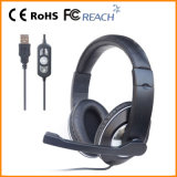 Stereo Wired Computer Heavy Duty Anr Avaition Headset (RMT-504)