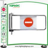 Supermarket Security Access Single Control Swing Gate