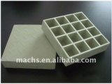 40*40mm Light Weight FRP Gratings, Square Mesh, Gritted Top Surface