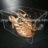 Top Selling Acrylic Shoe Box with Drawer (YYB-599)