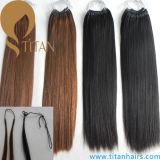 4#, 1# Pre Bonded Human Hair Cotton String Hair Extension