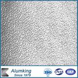 Embossed Stuccoed Aluminum Plate with Orange-Peel Pattern