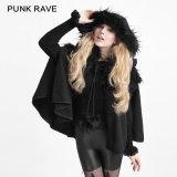 Ly-050 Halloween New Gothic Fashion Winter Women Lolita Sweat Cape Coat