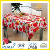 PVC Printed Transparent /Glass Tablecloth (TT0229A)