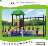 Kaiqi Small Slide and Swing Set for Children′s Playground (KQ30107B)