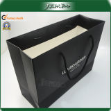 Custom Black Printing Reusable Quality Clothes Packing Bag