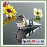 Round Glass Crystal Wine Bottle Stopper Sets/ Wedding Favor