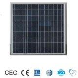 60W Polycrystalline Solar Panel with TUV/CE/Mcs/IEC Certificate