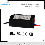 11W 250mA Constant Current Triac Dimmable LED Driver