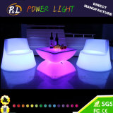 Colorful LED Lighted Coffee Table