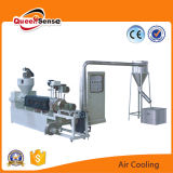 LDPE Plastic Recycling Extrusion Machine with Air Cooling Line
