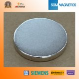 Permanent Neodymium Large Cylinder Magnet with ISO/Ts 16949